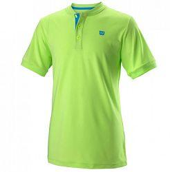 Detské tričko Wilson Uwii Henley Green