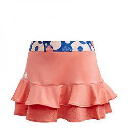 Dievčenská sukňa adidas G Frill Skirt Light Orange