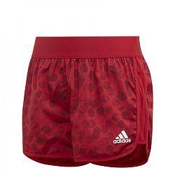 Dievčenské šortky adidas Training Mar SH červené
