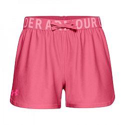 Dievčenské šortky Under Armour Play Up Solid Shorts tmavo ružovej