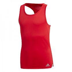 Dievčenské tielko adidas Club Tank Red