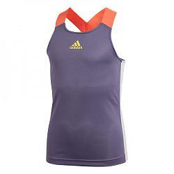Dievčenské tielko adidas G Y-Tank A.RDY Purple