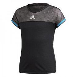Dievčenské tričko adidas G Escouade Tee Black