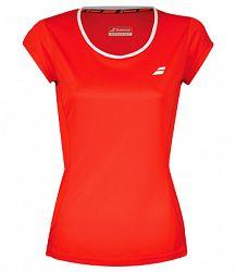Dievčenské tričko Babolat Core Flag Club Tee Red