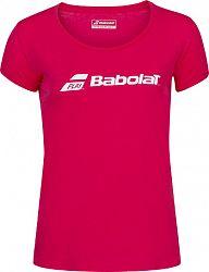 Dievčenské tričko Babolat Exercise Tee Red