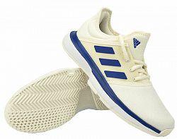 Juniorská tenisová obuv adidas SoleCourt xJ White