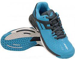 Juniorská tenisová obuv Babolat Propulse All Court JR Blue/Grey