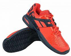 Juniorská tenisová obuv Babolat Propulse Clay JR Red/Blue