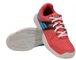 Juniorská tenisová obuv Babolat Pulsion All Court JR Pink/Sky Blue