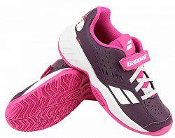 Juniorská tenisová obuv Babolat Pulsion All Court Kid Purple