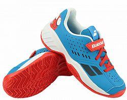 Juniorská tenisová obuv Babolat Pulsion All Court Kid Red/Blue