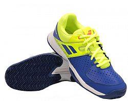 Juniorská tenisová obuv Babolat Pulsion Clay JR Blue
