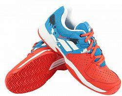 Juniorská tenisová obuv Babolat Pulsion Clay JR Red/Blue