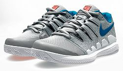 Juniorská tenisová obuv Nike Air Zoom Vapor X Clay Grey
