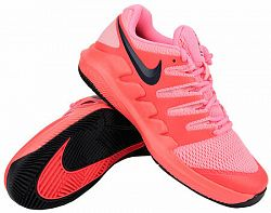 Juniorská tenisová obuv Nike Court Junior Vapor X Clay Laser Crimson/Blackened Blue/Pink