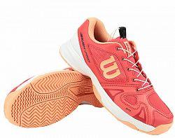 Juniorská tenisová obuv Wilson Rush Pro QL Cayenne