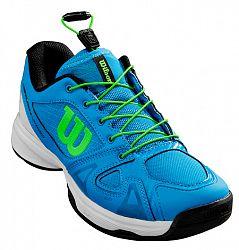 Juniorská tenisová obuv Wilson Rush Pro QL Pro Blue/White
