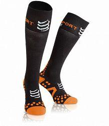 Kompresné podkolienky Compressport Full Socks Black