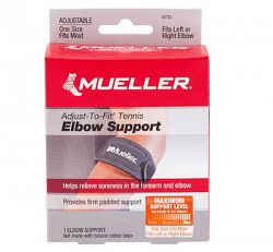 Lakťový pás Mueller Adjust-To-Fit Tennis Elbow Support