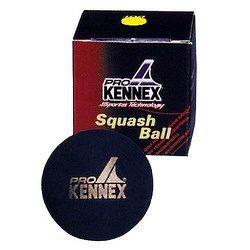 Loptička na squash ProKennex - 1 žltá bodka