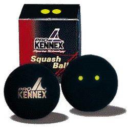 Loptička na squash ProKennex - 2 žlté bodky
