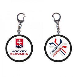 Minipuk prívesok na kľúče Hockey Slovakia