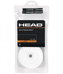 Omotávka na rakety vrchní Head Xtreme Soft White (30 ks)