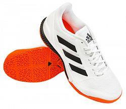 Pánska halová obuv adidas Stabil Bounce White/Orange