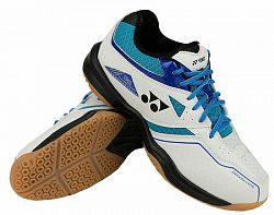 Pánska halová obuv Yonex Power Cushion 36 White/Blue