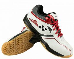 Pánska halová obuv Yonex Power Cushion 36 White/Red