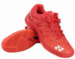 Pánska halová obuv Yonex Power Cushion Aerus 3 Red