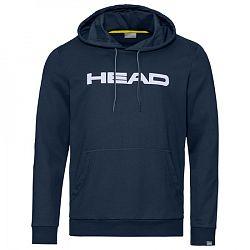 Pánska mikina Head Club Byron Hoodie Navy/White