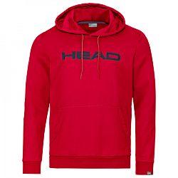 Pánska mikina Head Club Byron Hoodie Red/Navy