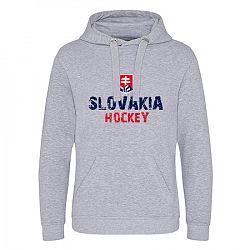 Panská mikina s kapucňou Slovakia Hockey