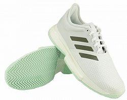 Pánska tenisová obuv adidas SoleCourt M Light Blue/White