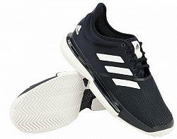Pánska tenisová obuv adidas SoleCourt Navy