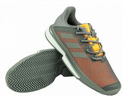 Pánska tenisová obuv adidas SoleMatch Bounce M Grey
