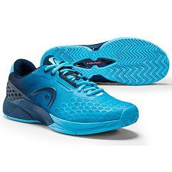 Pánska tenisová obuv Head Revolt Pro 3.0 All Court Aqua/Dark Blue