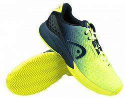Pánska tenisová obuv Head Revolt Pro 3.0 Clay Yellow/Navy
