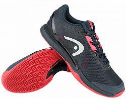 Pánska tenisová obuv Head Sprint Pro 3.0 Clay Navy/Red
