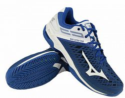 Pánska tenisová obuv Mizuno Wave Exceed Tour 4 AC Blue
