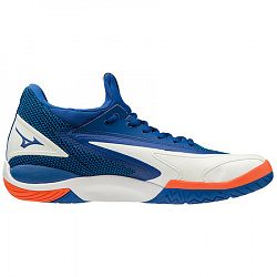 Pánska tenisová obuv Mizuno Wave Impulse All Court Blue/White