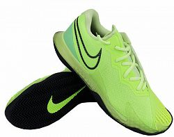 Pánska tenisová obuv Nike Court Air Zoom Vapor Cage 4 Clay Ghost Green