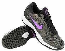 Pánska tenisová obuv Nike Zoom Cage 3 Black/Violet