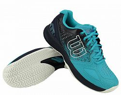 Pánska tenisová obuv Wilson Kaos Comp 2.0 Scuba Blue/Navy