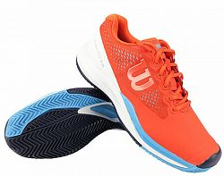 Pánska tenisová obuv Wilson Rush Pro 3.0 Clay Tangerine