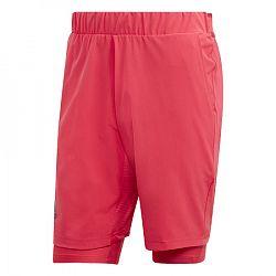 Pánske šortky adidas 2in1 Short H.RDY Red