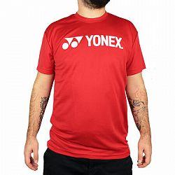 Pánske tréningové tričko Yonex Red