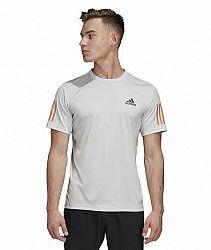 Pánske tričko adidas Club 3-Stripes Light Grey