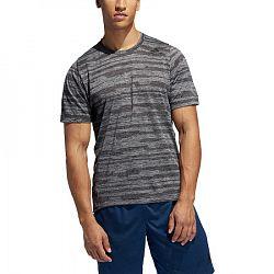 Pánske tričko adidas FL Tec čierno-šedé